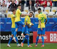 شاهد| البرازيل تقسو على بيرو بثلاثية في الشوط الأول