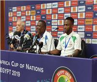 مدرب بوروندي عقب خسارته أمام نيجيريا: الخبرة حسمت المباراة