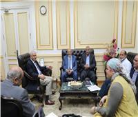 محافظ الجيزة: الانتهاء من 3 محطات لمعالجة الصرف الصحي بـ3 قرى