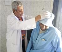 الكشف على 1408 مريض بالقافلة الطبية بقرية أبو ماضي بالدقهلية