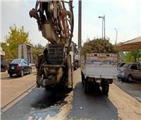 حملة لضبط سيارات النقل المخالفة على الطرق والمحاور