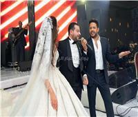 صور| حماقي يتألق في زفاف «الأمين ونسمة»