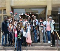 «مجلة نور» تستضيف أطفال دول قارة أفريقيا