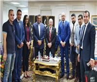 محافظ البحيرة يبحث مع رئيس قطاع البنك الزراعى المصرى سبل التعاون المشترك