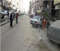 رفع 150 طن مخلفات صلبة وقمامة في حملات مكبرة بـ 4 مراكز بسوهاج