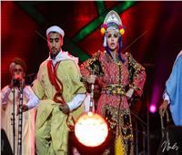 ميريام فارس ترقص وتغني بالمغربي في موازين (صور)