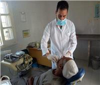 صور| علاج 3617 مريضًا خلال قافلة طبية بالبحيرة
