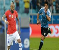 التشكيل المتوقع لمباراة تشيلي وأوروجواي في كوبا أمريكا