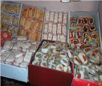 ضبط ١١٣ ألف قطعة حلوى مجهولة المصدر بكفر الشيخ
