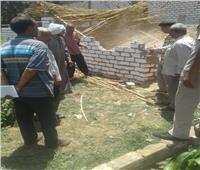 إزالات فورية لـ7 حالات تعدي أراضي الدولة بسوهاج