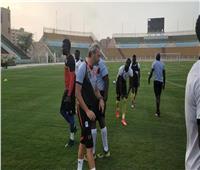 منتخب أوغندا يؤدي تدريبه الختامي استعدادًا لمباراة زيمبابوى بأمم أفريقيا