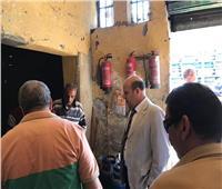 رئيس حي باب الشعرية يشن حملة مكبرة بالشوارع