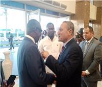 صور  أمم إفريقيا 2019  رئيس غانا يُشيد بتنظم مصر لـ«الكان»