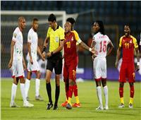 أمم إفريقيا 2019| أول بطاقة حمراء من نصيب لاعب غانا