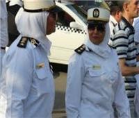 الداخلية تدفع بالشرطة النسائية بمحيط ستاد القاهرة قبل مباراة الكونغو