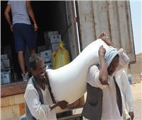 توزيع 2000 كرتونة غذائية.. وإجراء 250 عملية جراحية لمرضي «رأس حدربة»