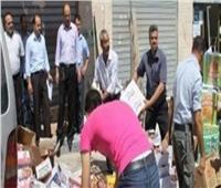 ضبط 9 أطنان مواد غذائية فاسدة في حملة تموينية بالإسكندرية