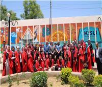 محافظ كفر الشيخ يُكرم طلاب «التربية النوعية» لتجميل الميادين