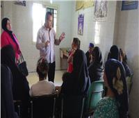 قوافل طبية لجامعة المنيا بقرى المحافظة