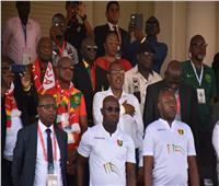 وفد حكومي رفيع المستوى في ستاد الإسكندرية لمتابعة لقاء غينيا ونيجيريا