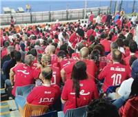 أمم إفريقيا 2019| «سيلفي الأصدقاء» شجع مصر من الإستاد قبل مباراة الكونغو