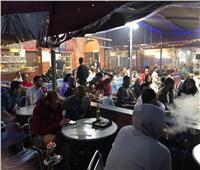 صور| الجالية المصرية بلندن تتابع مباراة المنتخب أمام الكونغو
