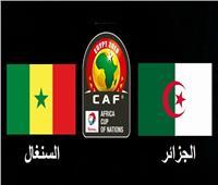 موعد مباراة الجزائر ضد السنغال والقنوات الناقلة في بطولة أمم أفريقيا