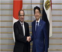 «السيسي» يجري مباحثات مع رئيس الوزراء الياباني على هامش قمة الـ20