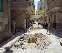 مأساة في «امبروزو» بالإسكندرية.. 40 أسرة على الرصيف دون مأوى