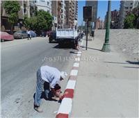 محافظ أسيوط: استمرار حملات رفع الإشغالات والتعديات من الشوارع والميادين