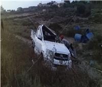 مصرع شخص وإصابة ١٦ آخرين في حادث تصادم بكفر الشيخ
