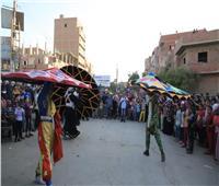 «مسرح الشارع» يصل لأخر محطاته للتوعية بالقضية السكانية