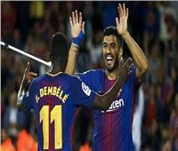 أمم إفريقيا 2019  نجم برشلونة يحضر مباراة السنغال والجزائر