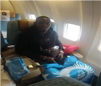 إيريك بايلي يصل مطار القاهرة للمشاركة في كأس الأمم الأفريقية