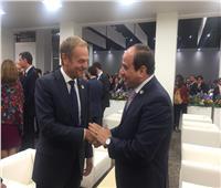 صور.. مشاركة الرئيس السيسي في  قمة العشرين باليابان