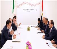 صور..السيسي لرئيس وزراء إيطاليا : نسعى للوصول إلى الحقيقة في قضية «ريجيني»