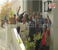 الطريق إلى 30 يونيو| اعتصام وزارة الثقافة ...بالفنون «نار الإخوان» أصبحت رماد