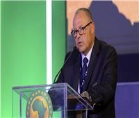هاني أبو ريدة: تنظيم الكان لا يقل عن مونديال 2018