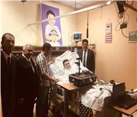 وفد الأحوال المدنية ينتقل بأجهزته لإصدار بطاقة لمريض مصري بالرياض