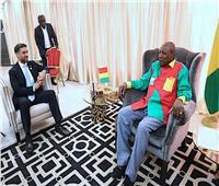 رئيس غينيا يشيد بجهود الجامعة العربية ورؤيتها للاقتصاد الرقمي