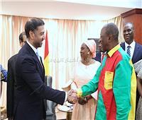 رئيس جمهورية غينيا يشيد بجهود جامعة الدول العربية في الاقتصاد الرقمي