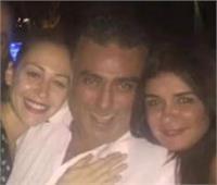 غادة عادل تحتفل بعيد ميلاد تامر حبيب بهذه الطريقة