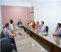 جامعة سوهاج تطلق مبادرة لتطوير «حي راشد» بالمحافظة