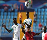 انتهاء الشوط الأول من موريتانيا وأنجولا بالتعادل السلبي