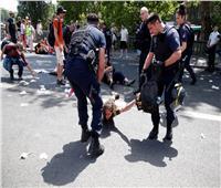 بسبب ارتفاع الحرارة... نشطاء يشتبكون مع الشرطة الفرنسية