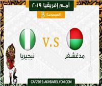 أمم إفريقيا 2019| تعرف على تشكيل منتخبي نيجيريا ومدغشقر