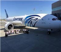 صور| طائرة الأحلام الرابعة تصل مطار القاهرة غدًا