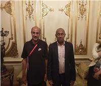أمم إفريقيا 2019  أحمد أحمد يهنىء منتخب مدغشقر بالفوز على نيجيريا