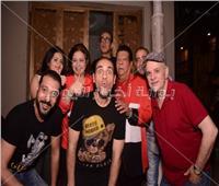 صور| شعبان عبد الرحيم في بروفا مسرحية «إيهاب والكباب»