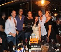 صور  رامي صبري ومروة نصر يحتفلان بعيد ميلاد ريم رأفت